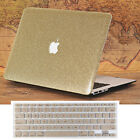 "2in1 Gold Glitter Bling Crystal Shiny Case for MacBook Air Pro 13"" 15"" Touch Bar"