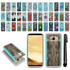 For Samsung Galaxy S8 G950 Hybrid Bumper Shockproof Hard TPU Case Cover + Pen