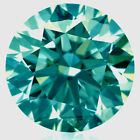 2.77 ct si3/9.11 MM BLUE WHITE COLOR ROUND CUT LOOSE REAL MOISSANITE