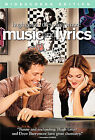 Music and Lyrics (DVD, 2007, Widescreen) Hugh Grant Drew Barrymore New Sealed