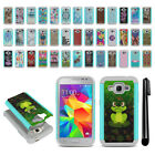 For Samsung Galaxy Core Prime G360 Hybrid Bumper Shockproof Case Cover + Pen