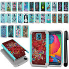 For Samsung Galaxy S5 Sport G860 Hybrid Bumper Shockproof Case Cover + Pen