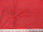 Discount Fabric Printed Nylon Lycra Spandex Hot Pink and Black Striped 708LY