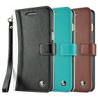 Two Tone Portable Wallet Case Cover Wristlet for Samsung Galaxy S6 Edge Plus
