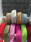 ELEGANZA Country Hessian Wire Edged Ribbon - 38mm - 10 shades & various lengths