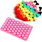 55 Sweet Hearts Silicone Chocolate Cookie Mould Baking C1MY