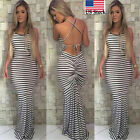 New Women Summer Dress Boho Maxi Long Evening Party Dress Beach Dress Sundress