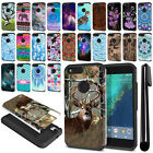 "For Google Pixel XL 5.5"" HTC Hybrid Bumper Protective Hard TPU Case Cover + Pen"