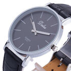 Luxury Fashion Unisex Quartz Watch Women Men Dress PU Leather Relogio Masculino
