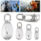 M15 - M50 Stainless Steel 304 Swivel Snatch Fixed Single Pulley Block