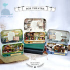 DIY Handcraft Miniature Project Dolls House The Old Times Trilogy Box Theatre