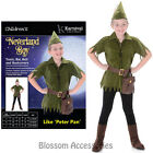 CK857 Kid Neverland Boy Robin Hood Peter Pan Costume Fancy Dress Party Book Week
