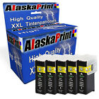 Schwarz 5 Ink Cartridges for Lexmark 100 XL Toll Prevail Pro 708 Impact S308