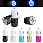 Universal Dual USB Port LED Indicator 2.1A Car Charger Adapter For iPhone Samsun