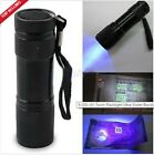 Portable UV Torch Ultra LED Zoom Flashlight Violet Purple Blacklight Lamp <br/> PROMOTION PRICE BUY IT NOW
