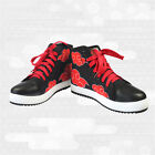 Naruto Uchiha Itachi High-top Casual Skate Canvas Shoes Cosplay Costume Shoes