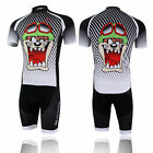 Hot Mens Cycling Jersey Padded Shorts Suit Bicycle Wear Bike Set Rding top shirt