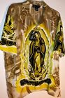 NEW with tags  size S or M LADY OF GUADALUPE HAWAIIAN SHIRT by YAGO