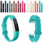 New Wristband Silicone Steel Watch Bracelet Watche Strap Band For Fitbit Alta HR