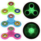 Tri-Spinner Fidget Toy Luminous Light EDC Hand Spinner Anxiety Stress Relief Toy