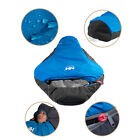 0℃ Outdoor Camping Mummy Sleeping Bag Ultra-light Portable with Carrying Bag New