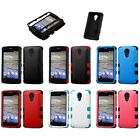 2Ly Tuff Protector Cover Case ZTE Virgin Assurance QLink N817 Quest Legacy Uhura