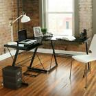 L-Shaped Corner Computer Desk PC Latop Study Table Workstation Home Office New