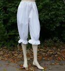 Ladies Victorian / Edwardian drawstring bloomers costume fancy dress with ribbon