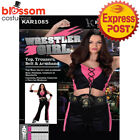 CA228 Wrestler Girl Robes Sports Boxing Boxer Babe Fancy Dress Up Party Costume