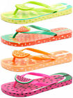 Ipanema Brasil Tutti Frutti Junior Flip Flops ALL SIZES AND COLOURS