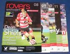 DONCASTER ROVERS HOME PROGRAMMES 2009-2010