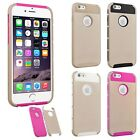 Hybrid Shockproof Hard Rugged Heavy Duty Cover Case For Apple iPhone 6 6S 4.7