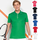 SOL's Mens Performance Three Button Polo Shirt - Breathable Fabric
