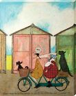 Sam Toft There may be Better Ways to Spend an Afternoon Canvas Print 40x50cm