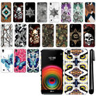 For LG X Power LS755 US610 K450 K220 Butterfly Design HARD Back Case Cover + Pen