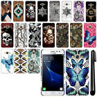For Samsung Galaxy J3 Pro J3110 2017 Butterfly Design HARD Back Case Cover + Pen