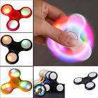 LED Hand Spinner Tri Fidget Finger Spinner EDC Spin Stress Focus Desk Toy SS4