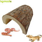 KOMODO REPTILE VIVARIUM TERRARIUM WOODEN SNAKE LIZARD CAVE HIDE 4 SIZES NEW