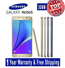 Samsung Galaxy Note 5 /Note 4 /Galaxy S5 16/32G All Colors Unlocked Phone B02E