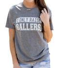 ATX Mafia I Only Raise Ballers Short Sleeve T-shirt-Grey