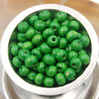 Lots 500/1000pcs  Round Natural Wood Ball Spacer Loose Crafts Beads 4mm 8mm