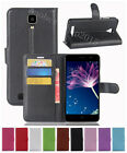 NEW Litchi Leather slot wallet stand flip Cover Skin Case For DOOGEE X10