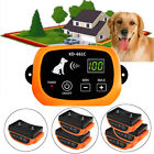 Wireless Waterproof Rechargeable 1-2-3 Dog Fence No-Wire Pet Containment System