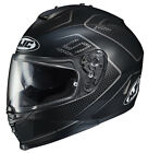 HJC IS-17 Lank Motorcycle Helmet / Black - All Sizes <br/> Authorized HJC Dealer