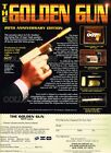 "GOLDEN GUN 1994 James Bond 007 7,500 = POSTER Not Replica Gun 7 SIZES 19"" - 36"" $32.88 CAD"