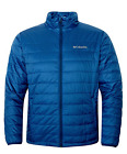Columbia Men's Crested Butte Omni Heat Insulated Winter Jacket Royal Blue NWT