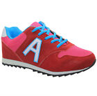 LADIES RUNNING TRAINERS  WOMENS SHOCK ABSORBING FITNESS GYM SPORTS GIRLS SHOES S