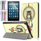 SlimShell Stand Protective Cover Case For Amazon Apple Samsung Galaxy LG Lenovo