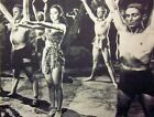 TARZAN & LEOPARD WOMAN sexy clipping B&W small photo Acquanetta 1946 Venezuala