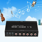Audio Decoder Gear DTS/AC-3 Digital Sound to 5.1/Stereo Analog Output Converter